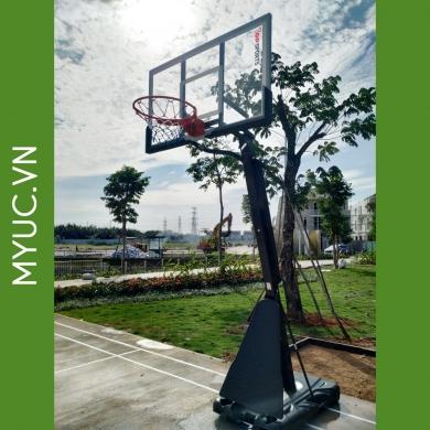 trụ bóng rổ di động điều chỉnh chiều cao.