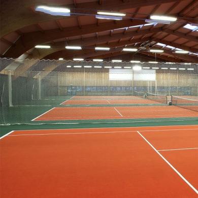 anti slip used pvc flooring tennis sport