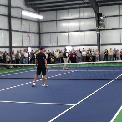 durable pvc tennis court sports flooring