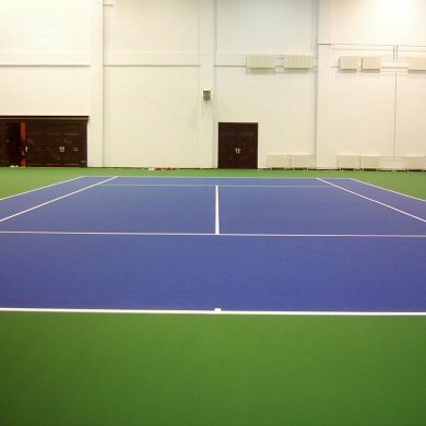 eco friendly pvc tennis flooring in different