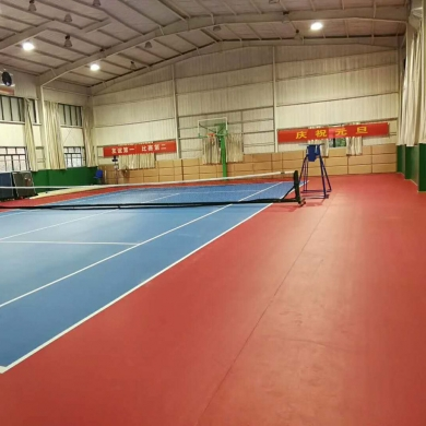 professional high quality tennis court sports flooring