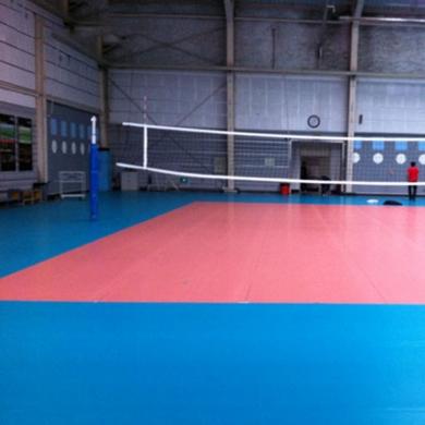 waterproof vinyl volleyball floor