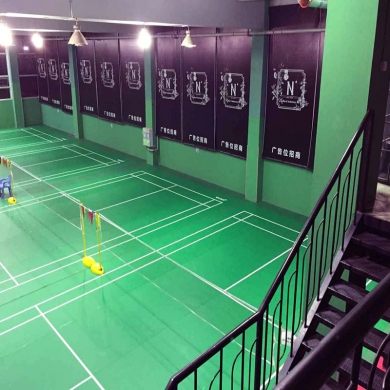 7 0mm pvc sport flooring for badminton