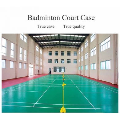 alibaba suppler badminton mat with meteorite pattern
