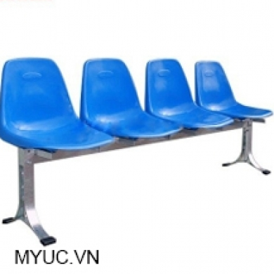 băng 4 ghế composite lưng cao