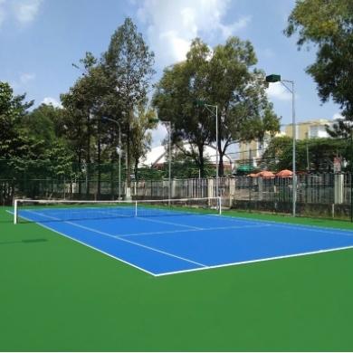 sơn sân tennis 3 lớp nova sports usa