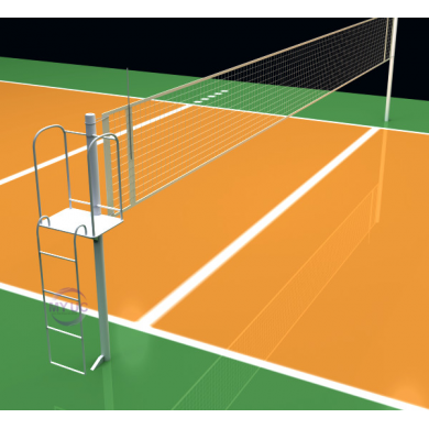 sơn sân bóng chuyền trên bê tông xi măng với 9 lớp sơn novasports usa