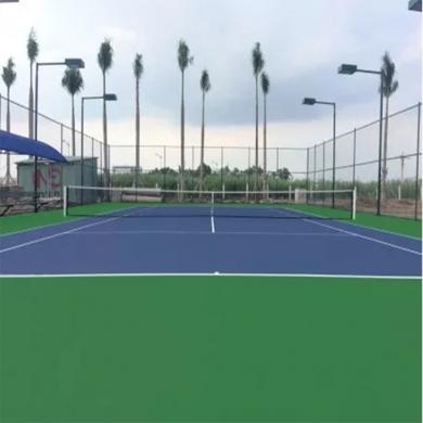 thi công sơn sân tennis