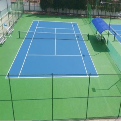 thi công sơn sân tennis 2