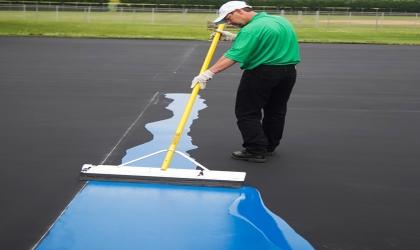 tennis court paint boise